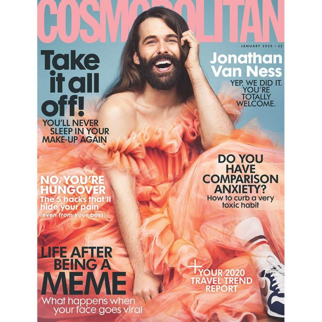 Cosmopolitan скандальная обложка