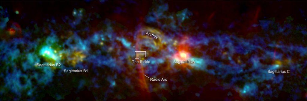 NASA Млечный путь цветной