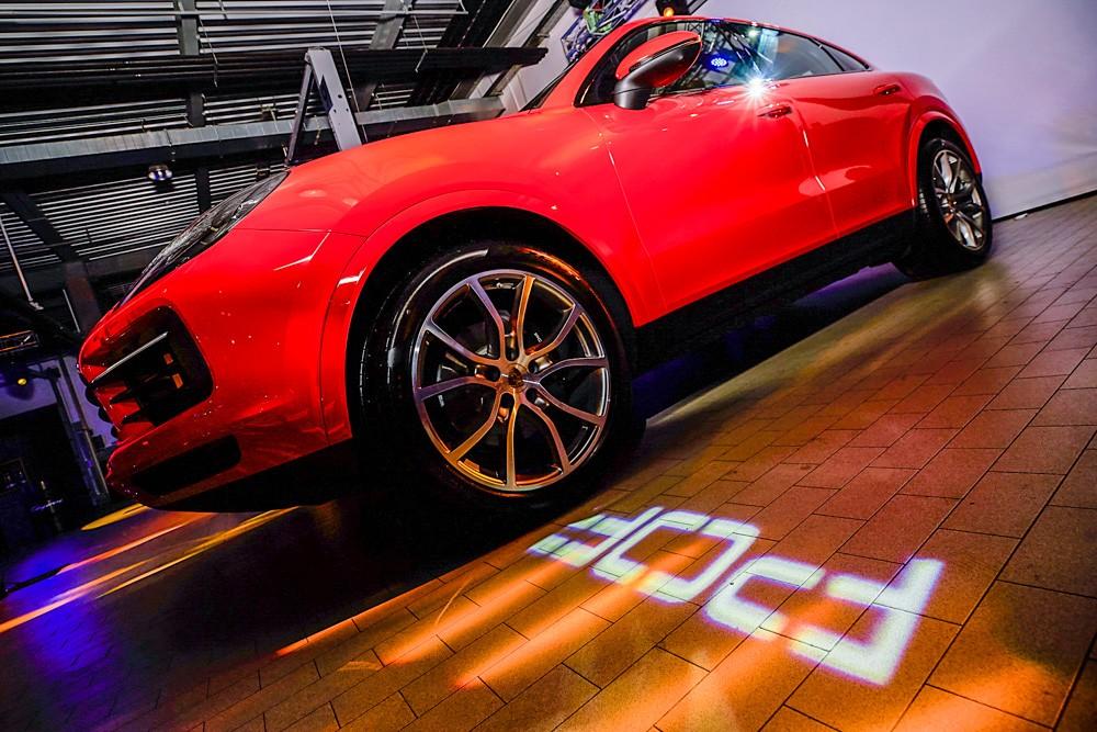 Porsche Cayenne – вариации на тему купе