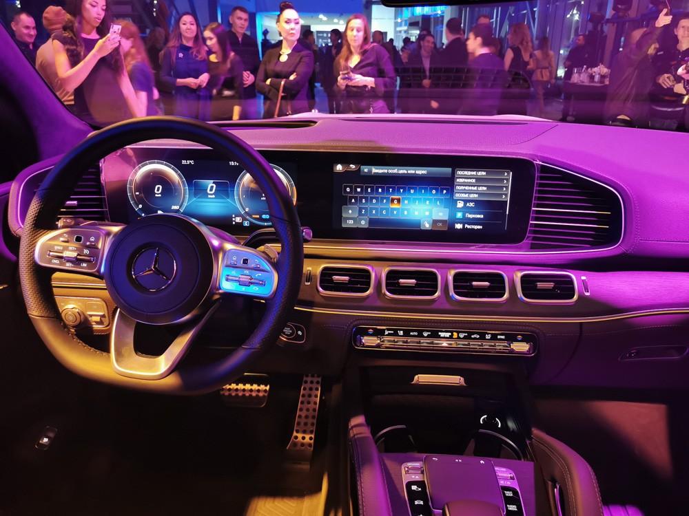 Mercedes-Benz GLS салон