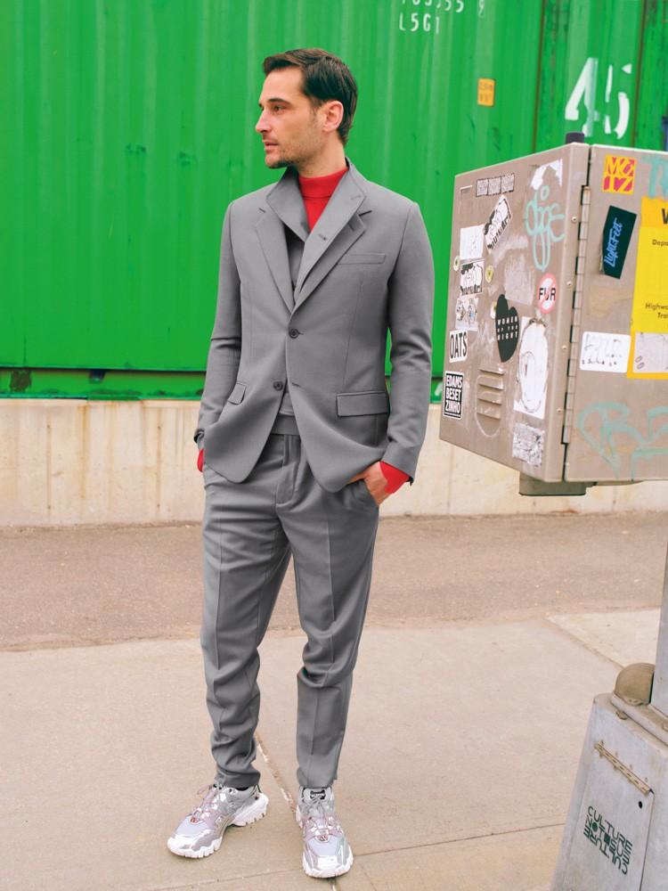 Dior Homme Ermenegildo Zegna Valentino x Undercover мужская мода