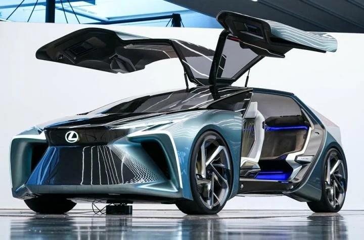 Lexus LF-30 Electrified будущее автомобилестроения