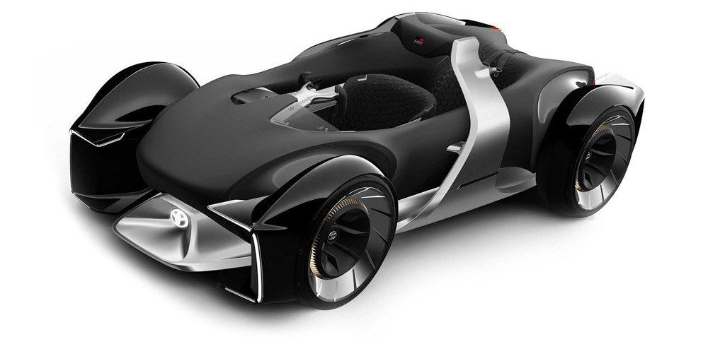 Toyota e-Racer будущее автомобилестроения