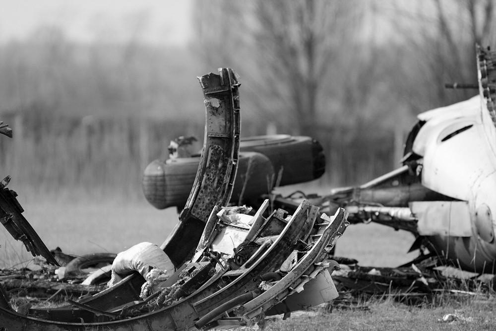 В Иране разбился украинский пассажирский самолет. Все, кто находился на борту погибли