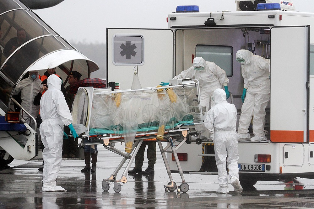 В Казахстане госпитализировали четверых человек, прибывших из Китая с высокой температурой