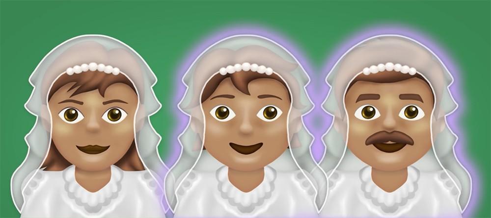 Новые эмодзи: кормящий младенца мужчина, жених в свадебной фате и другое