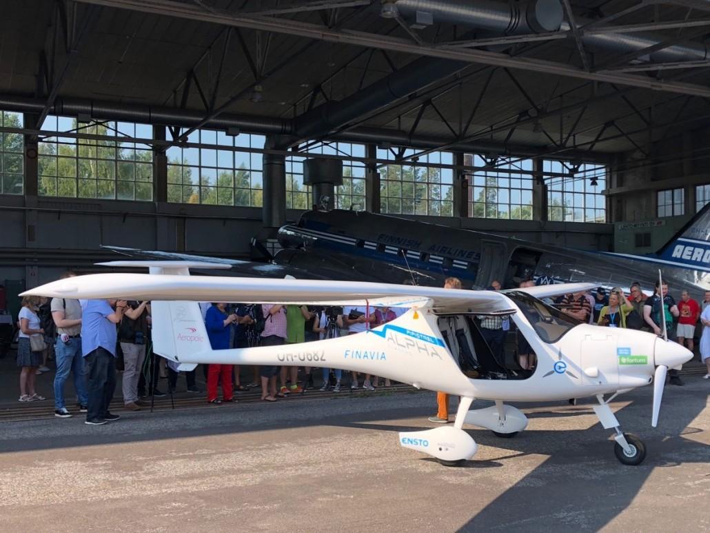 В Финляндии собираются выпускать электрические самолеты