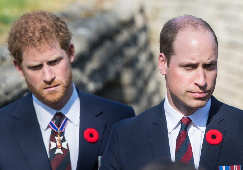 принц Гарри и Уильяма