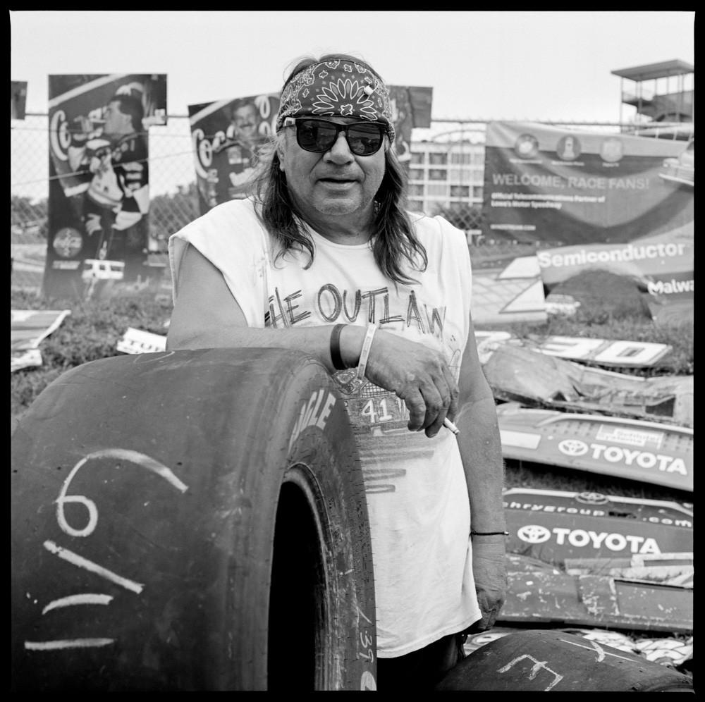 Камера. Мотор: NASCAR в фотопроекте Хантера Барнса