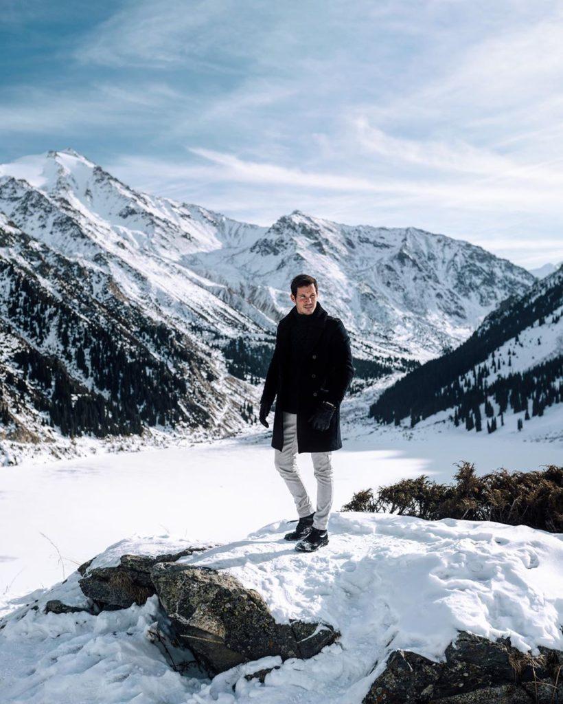 блогер-миллионер Том Кларен в Казахстане