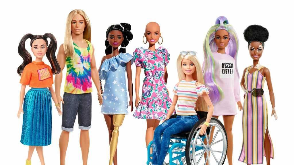 Барби с болезнями