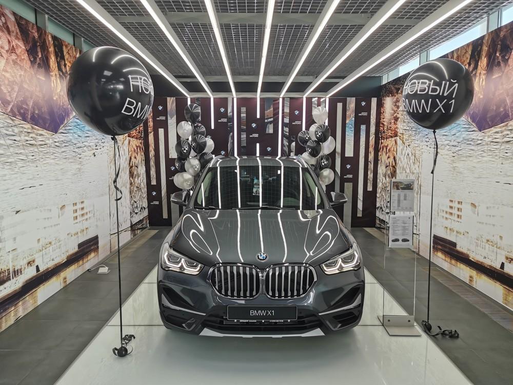 Обновленный BMW X1