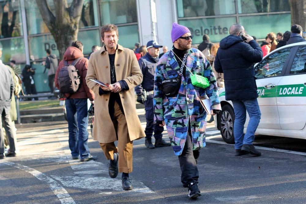 streetstyle-образы мода