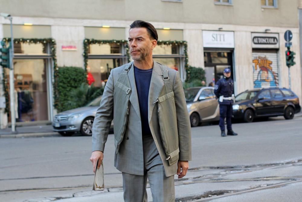 streetstyle-образы Милан