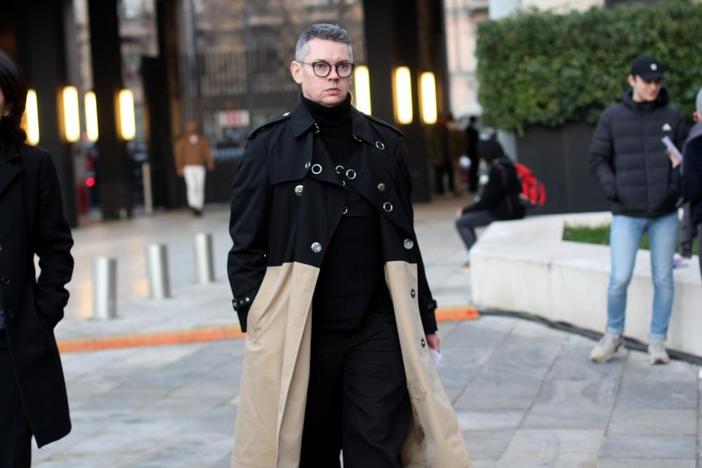 Всем мужчинам пример: streetstyle-образы гостей Мужской недели моды-2020