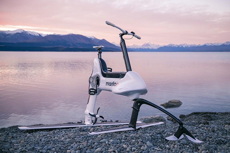 Hydrofoiler XE-1: велосипед для езды по воде