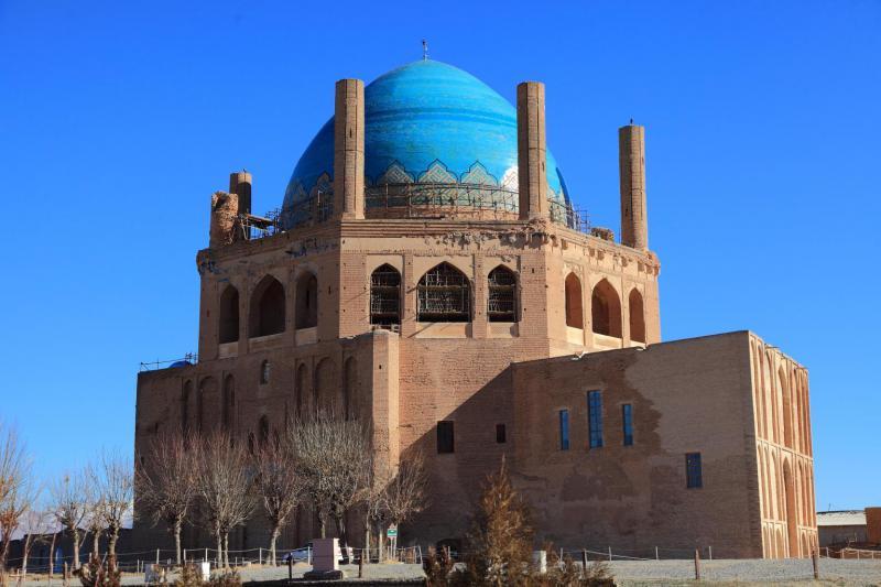 мавзолей Солтание ЮНЕСКО в Иране