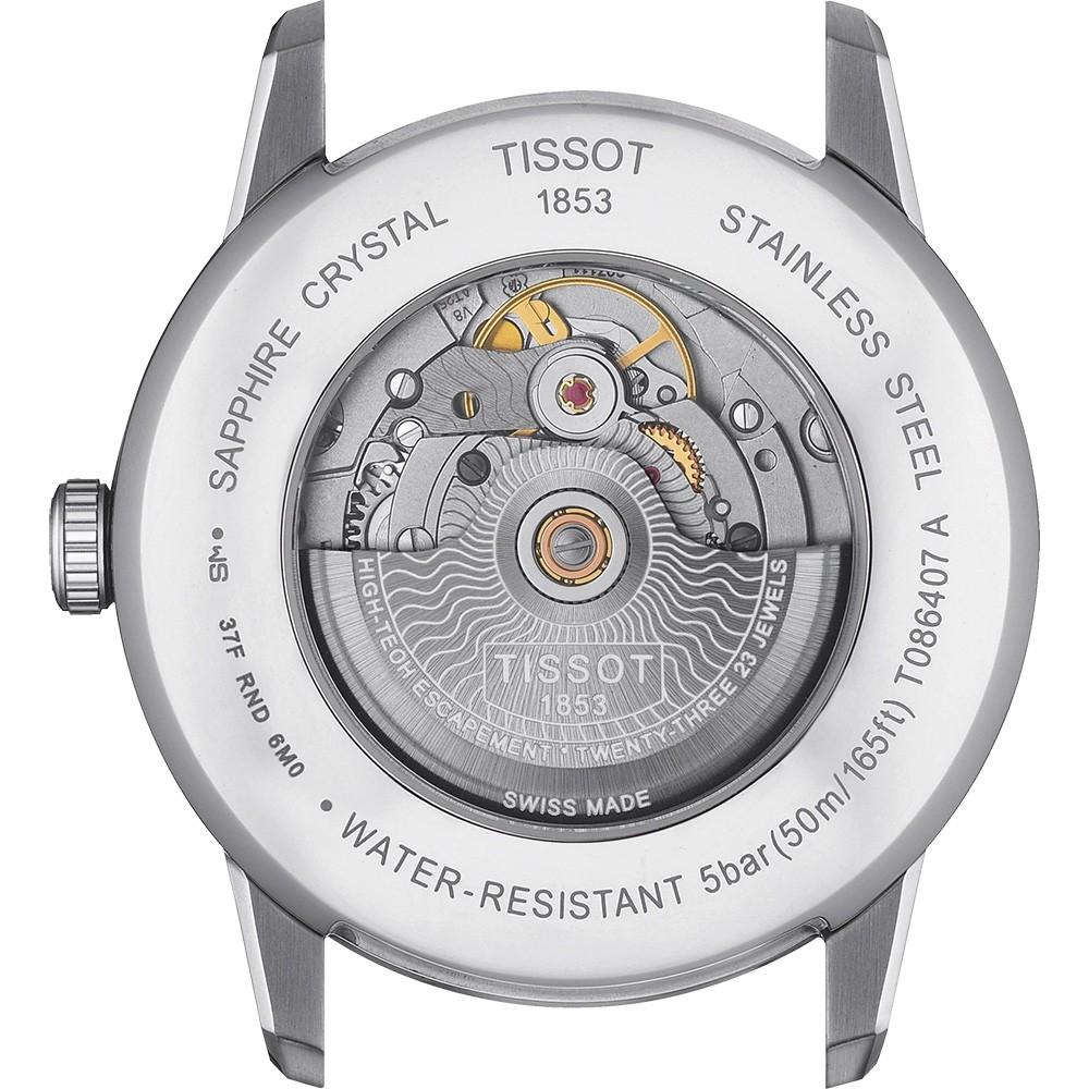 Tissot Luxury Powermatic 80 T086.407.16.037.00: часы месяца