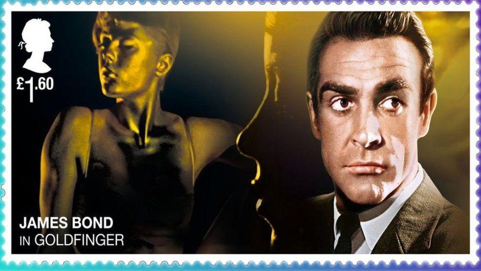 Джеймс Бонд появился на почтовых марках Британии