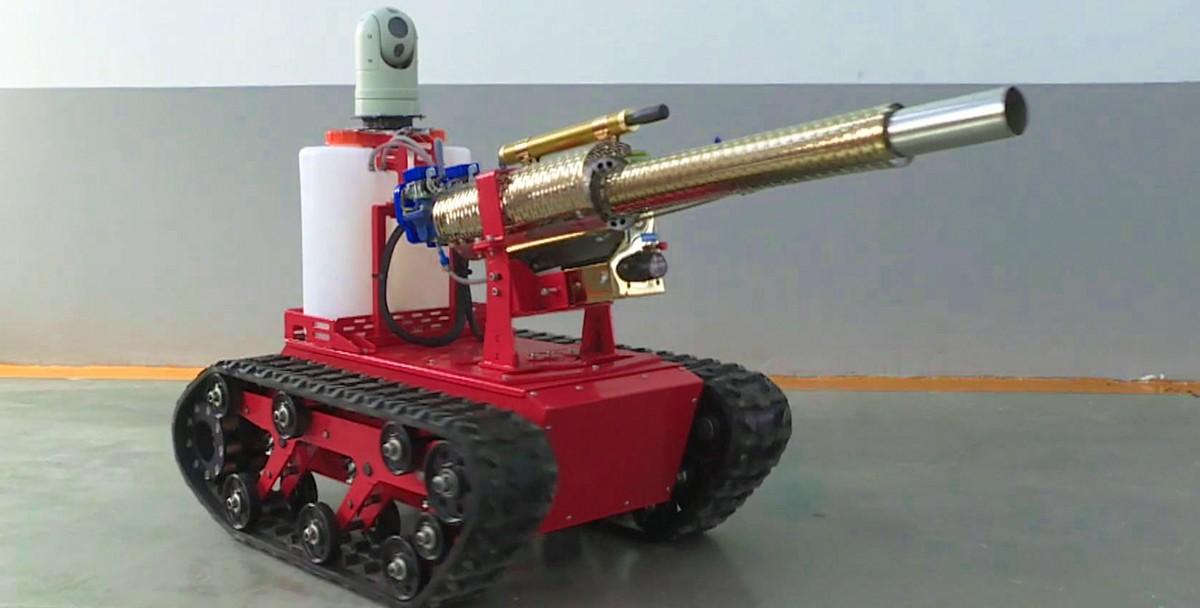Роботы-дезинфекторы появились в Китае