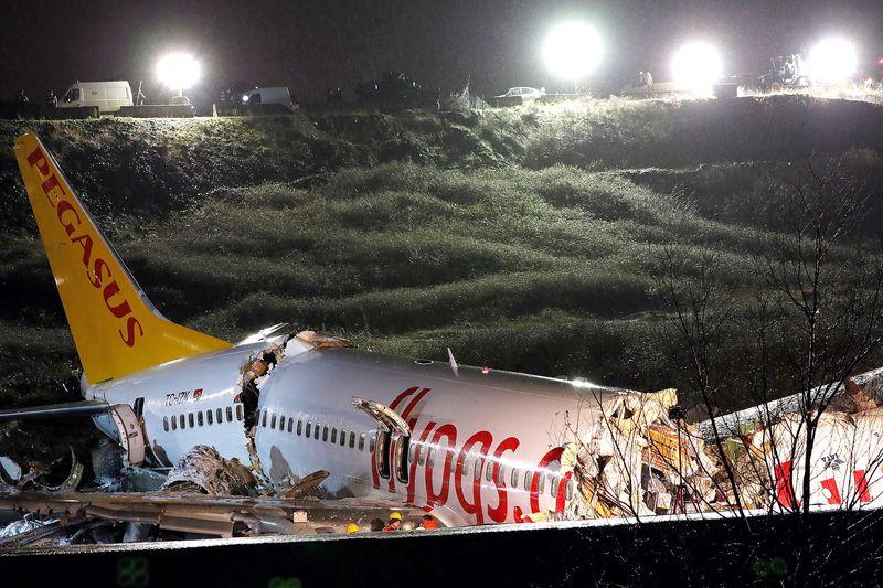 В развалившемся в Стамбуле самолете были казахстанцы