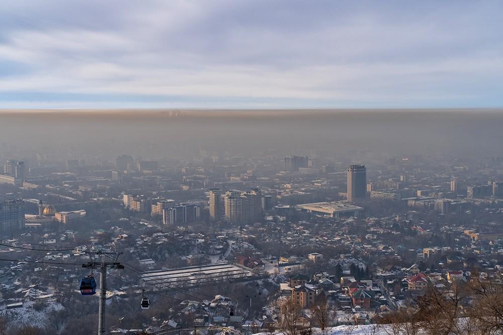 Алматы перегнал Пекин по уровню загрязнения воздуха