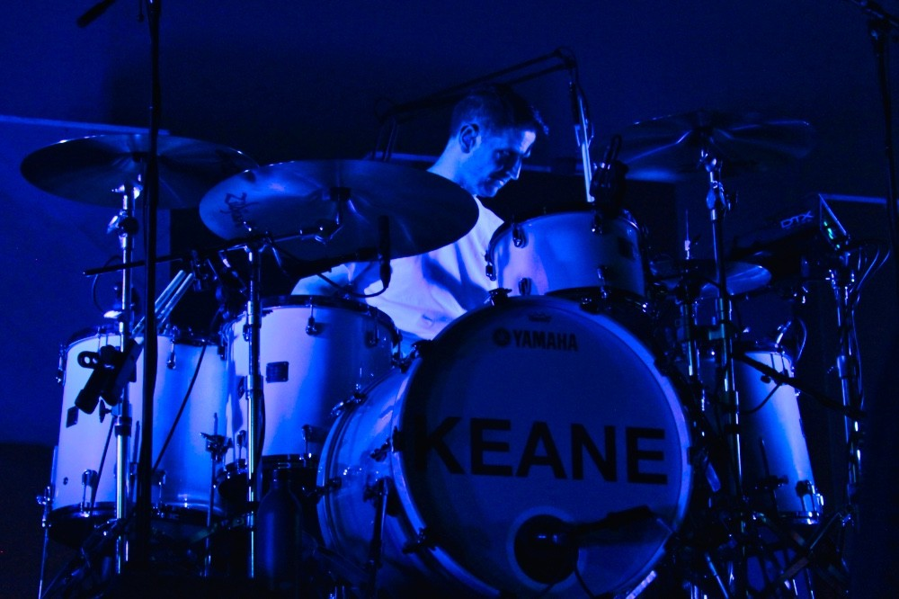 Keane барабанщик концерт