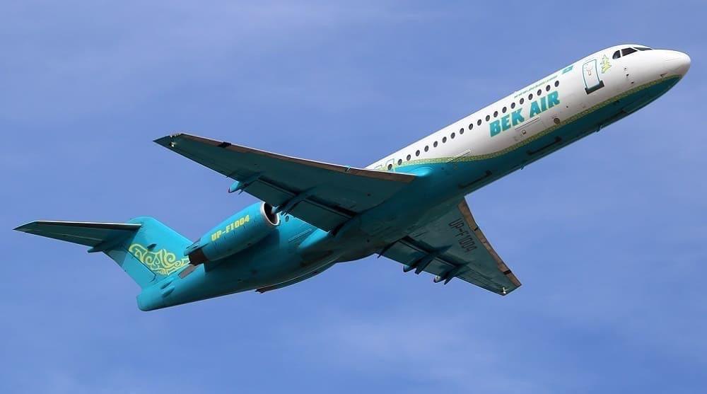 Самолет Bek Air