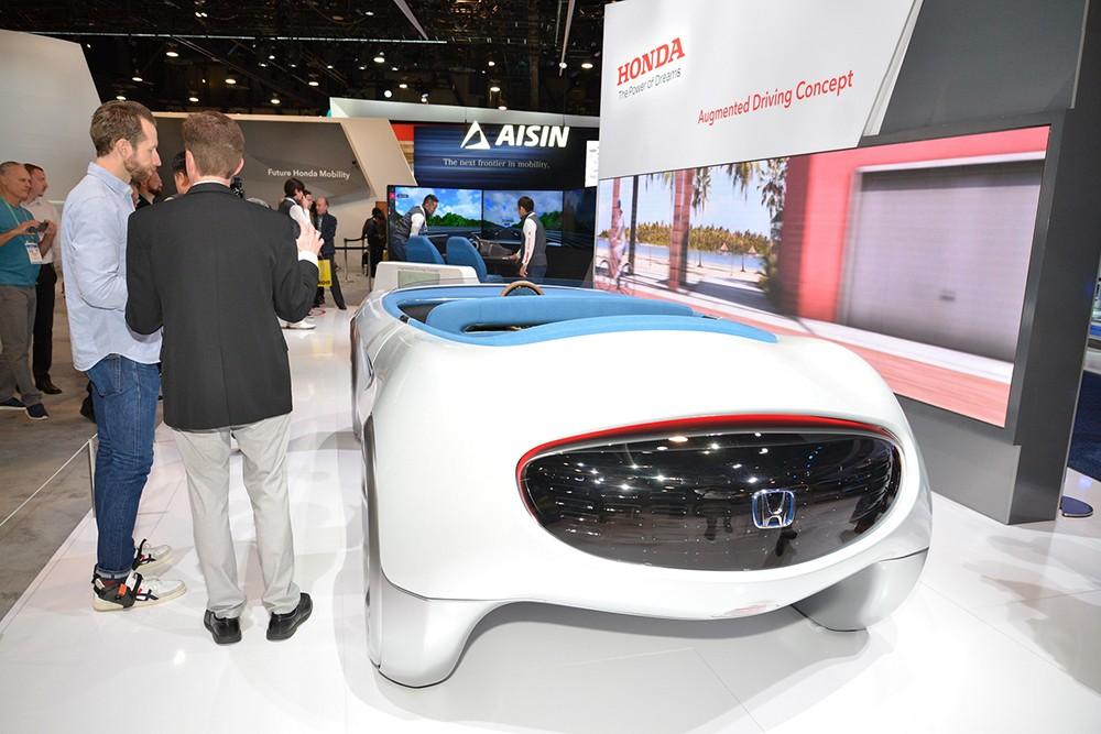 Автопилот или ручное управление? Augmented Driving!