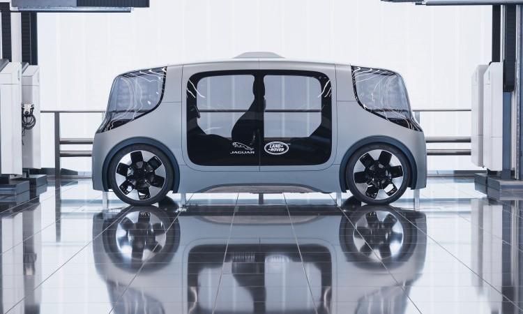 Jaguar Land Rover Vector: как выглядит транспорт будущего