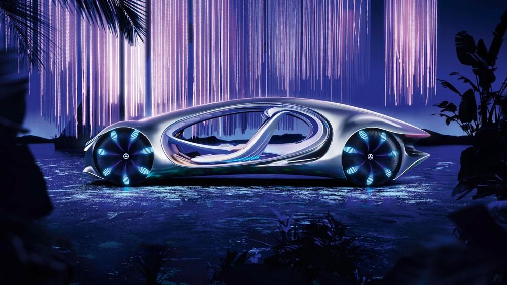 Автомобиль месяца. Mercedes-Benz Vision AVTR