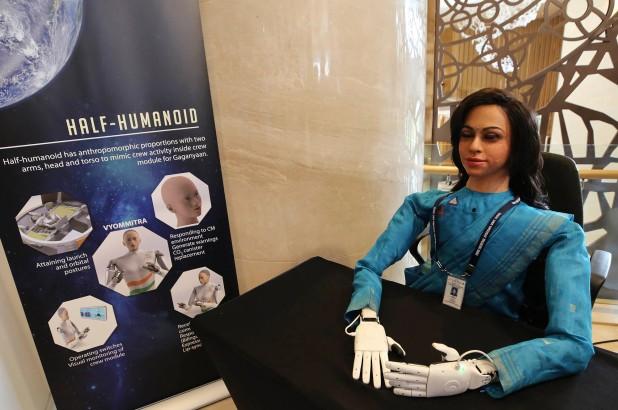 индийский робот для полетов в космос