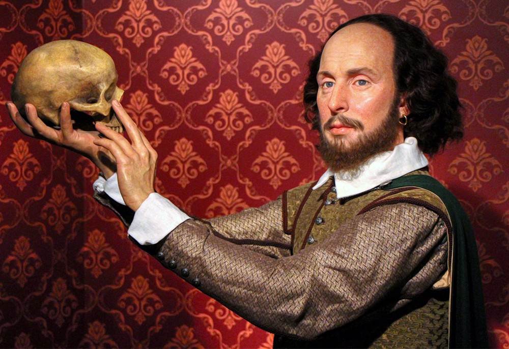 Шекспир с черепом