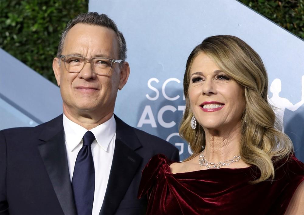Том Хэнкс и супруга