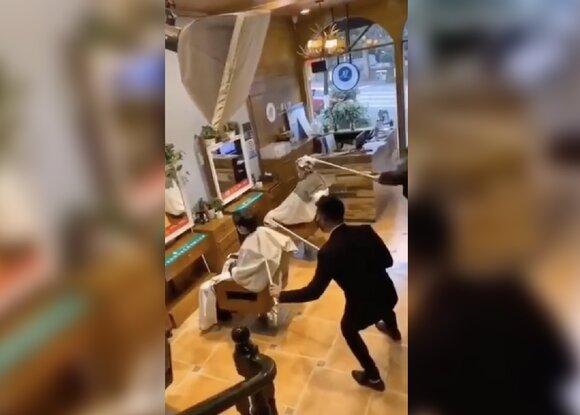 Парикмахерские Китая перешли на бесконтактное обслуживание