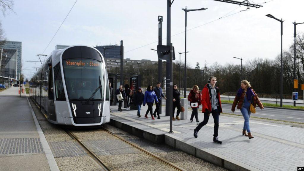 общсетвенный транспорт в Люксембурге