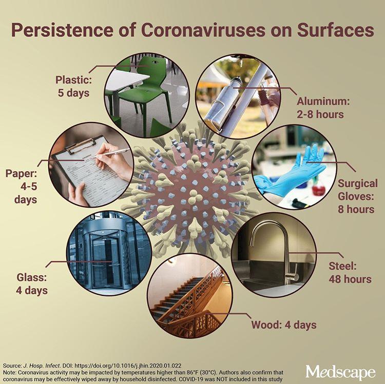 На пластике до нескольких суток: сколько живут коронавирусы