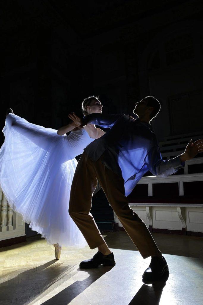 танец в Эрмитаже