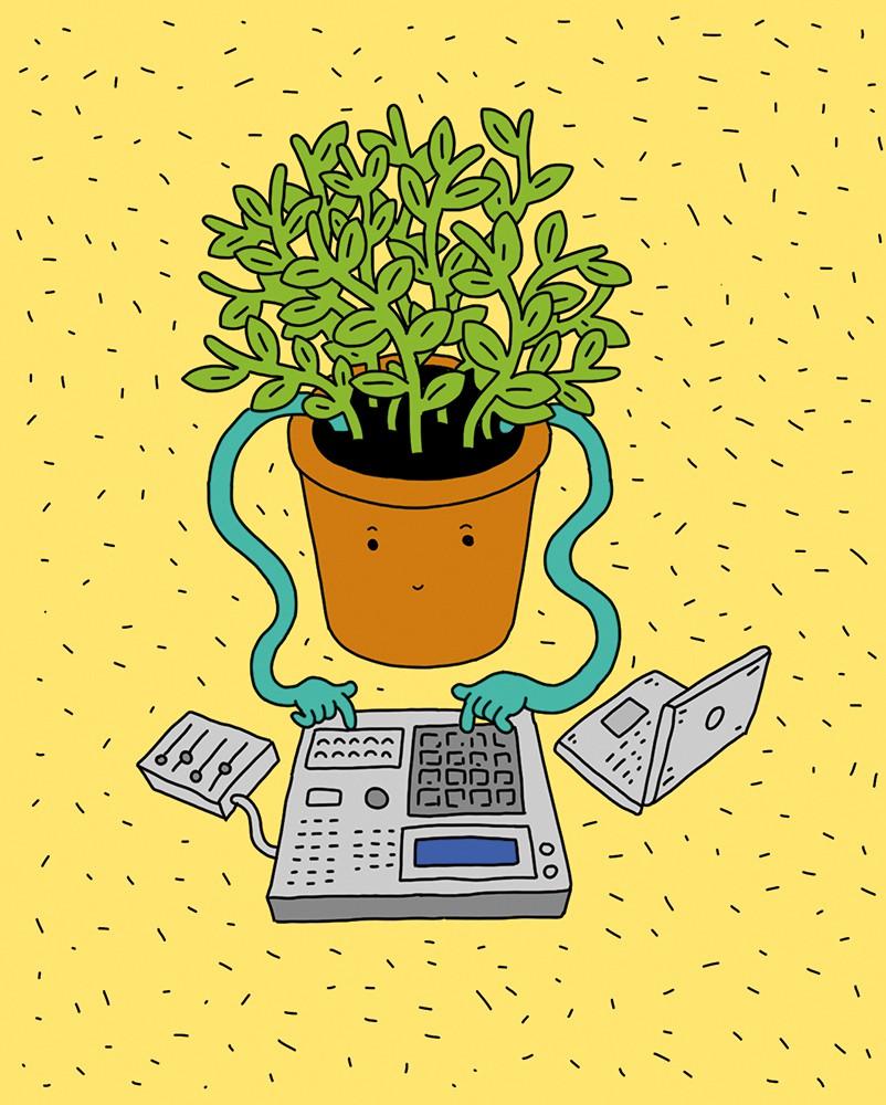 горшок и компьютер