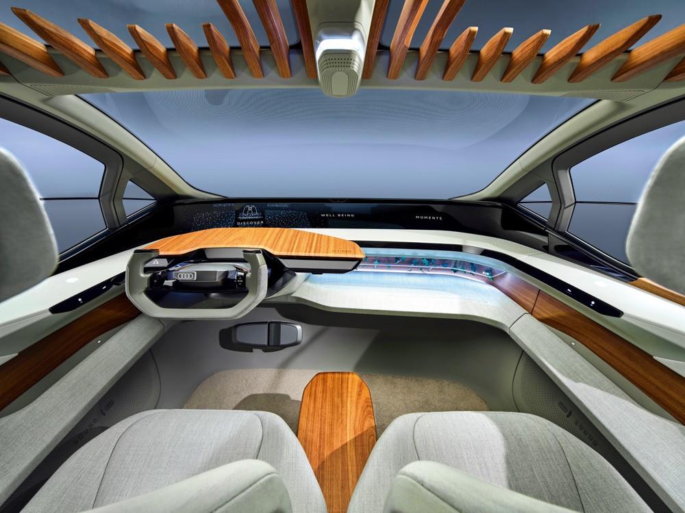 Audi AI: ME интерьер