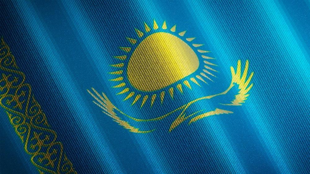 флаг Казахстана майские праздники