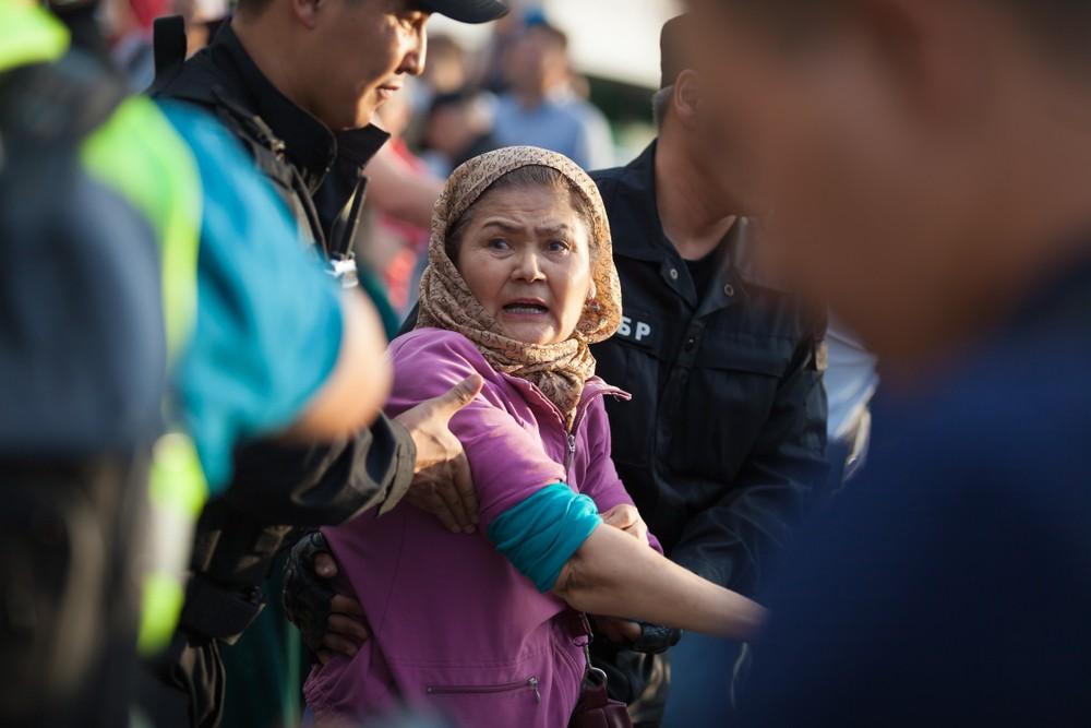 митинги Казахстан Мажилис