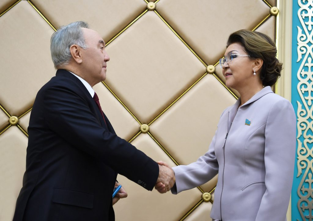 Дарига и Нурсултан Назарбаевы