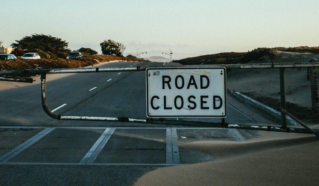 Закрытая улица