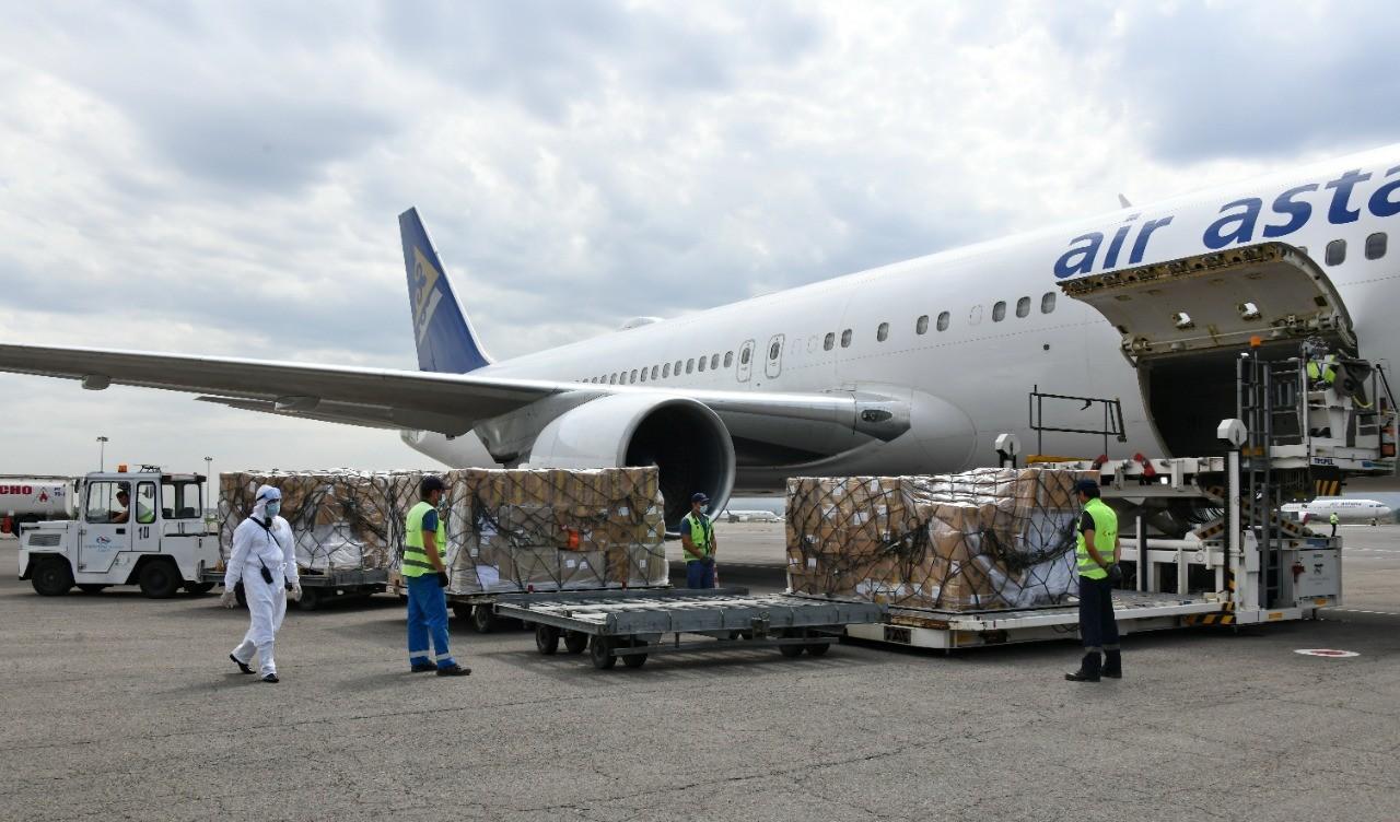 В Алматы доставили 23 тонны медикаментов