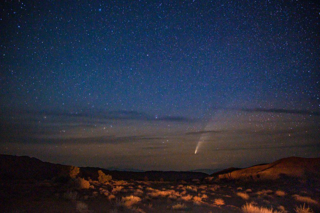 Комета Neowise, приходящая раз в 6800 лет: история одного фото.