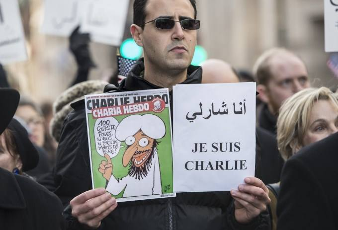 Charlie Hebdo вновь напечатает карикатуры на пророка Мухаммеда