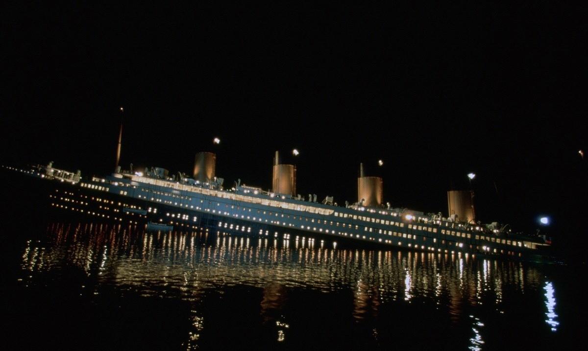 «Титаник» мог затонуть из-за северного сияния