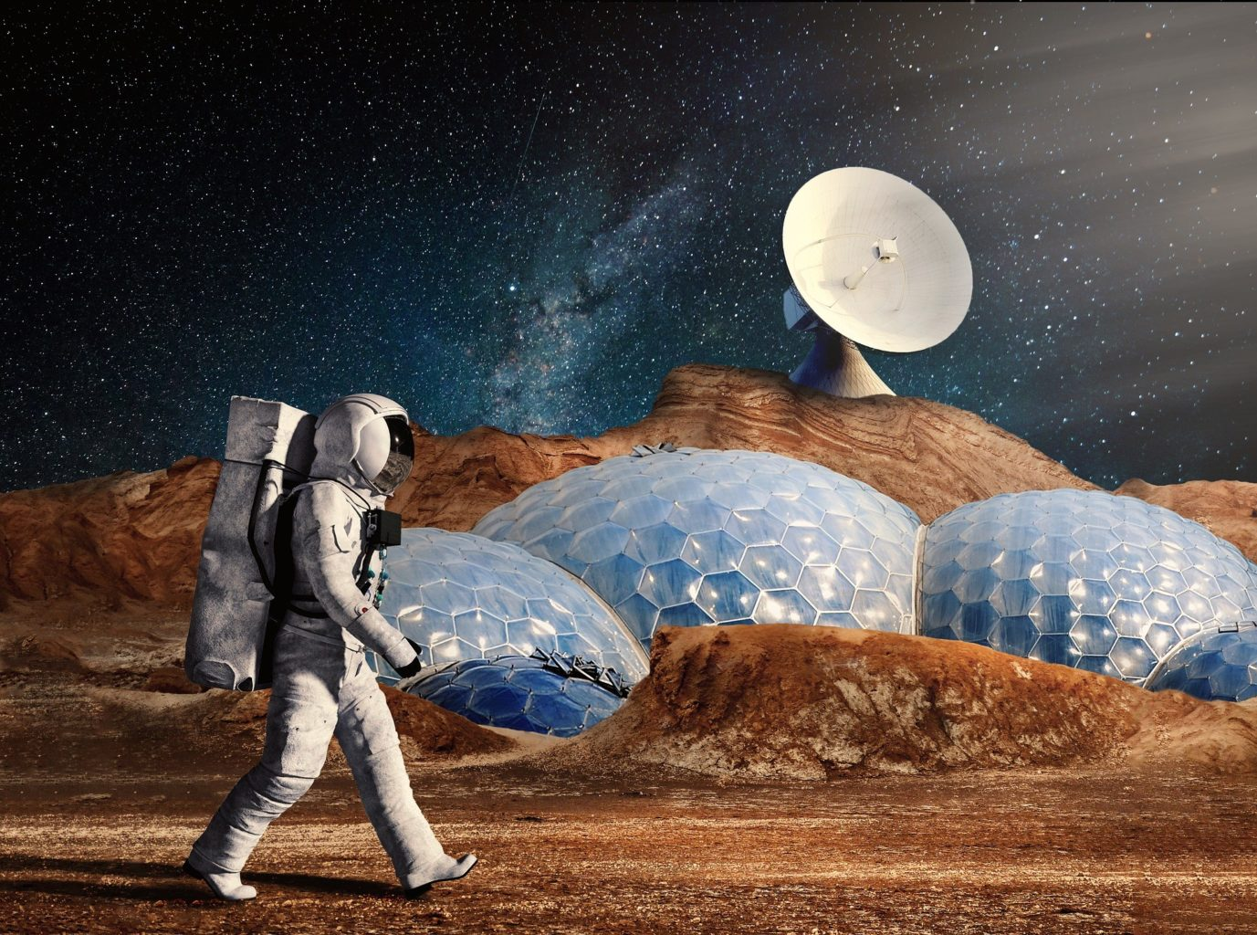 Илон Маск рассказал про первую базу на Марсе