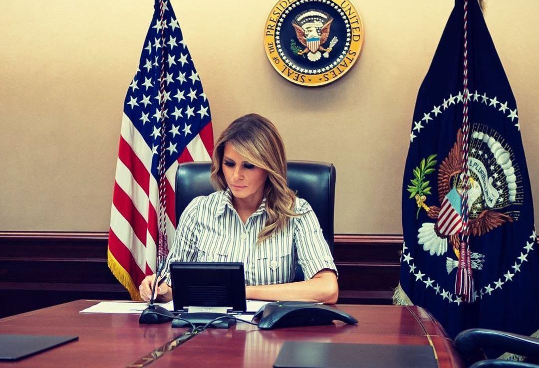 Мелания Трамп собирается подать на развод